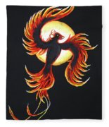 Phoenix Fleece Blanket