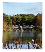 Photo Watercolour Lincoln Woods Ri Fleece Blanket