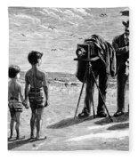 Photography, 1877 Fleece Blanket