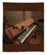 Piano Candelabra Fleece Blanket