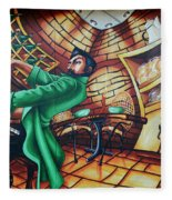 Piano Man 2 Fleece Blanket