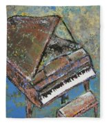 Piano Study 5 Fleece Blanket