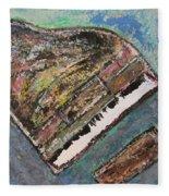 Piano Study 7 Fleece Blanket