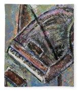 Piano Study 9 Fleece Blanket