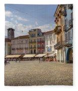 Piazza Grande - Locarno Fleece Blanket