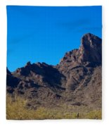 Picacho Peak - Arizona Fleece Blanket