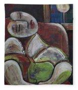 Picasso Dream For Luna Fleece Blanket
