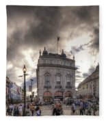 Piccadilly Panorama Fleece Blanket