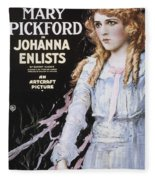 Pickford Film Poster, 1918 Fleece Blanket