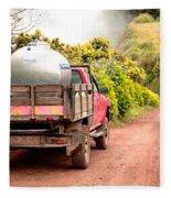 Pickup Truck Fleece Blanket
