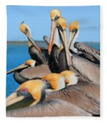 Pier Party Fleece Blanket