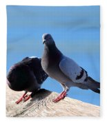 Pigeon Fleece Blanket
