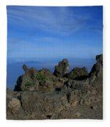 Pihanakalani Haleakala - House Of The Sun - Summit Sunrise Maui Fleece Blanket