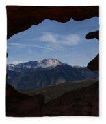 Pikes Peak 2012 Fleece Blanket