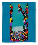 Pilgrimage Saut D'eau Fleece Blanket