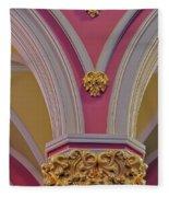 Pillar Details Fleece Blanket