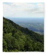 Pilot Mountain Fleece Blanket