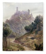 Pina Cintra Summer Home Of The King Of Portugal Fleece Blanket