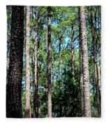 Pine Patch Fleece Blanket