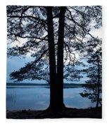 Pine Silhuette Fleece Blanket