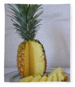 Pineapple Delight Fleece Blanket