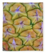 Pineapple Eyes Fleece Blanket