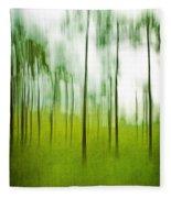 Pines Fleece Blanket