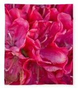 Pink Azalea Fleece Blanket