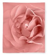 Pink Fluff Fleece Blanket