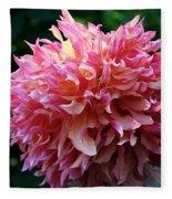 Pink Frills Fleece Blanket