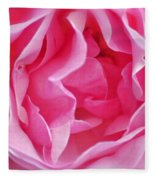 Pink March Rose 2012 Limited Edition Fleece Blanket