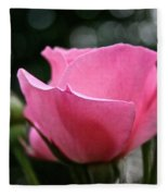 Pink Pearl Fleece Blanket