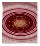 Pink Vortex Fleece Blanket