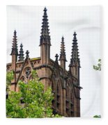 Pinnacles Of St. Mary's Cathedral - Sydney Fleece Blanket