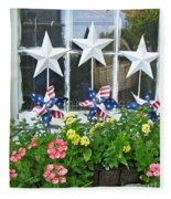 Pinwheels In The Flower Box  Fleece Blanket