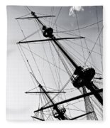 Pirate Ship Fleece Blanket