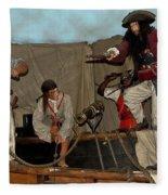 Pirates Of Peril Fleece Blanket