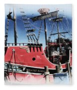 Pirates Ransom - Clearwater Florida Fleece Blanket
