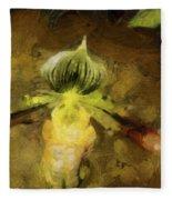 Pixie Orchid Fleece Blanket