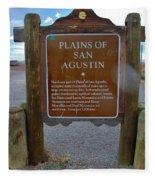 Plains Of San Agustin Fleece Blanket