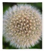 Planet Dandelion Fleece Blanket