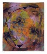 Planet Perspectives Fleece Blanket