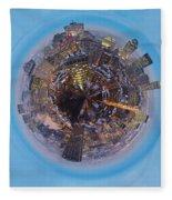 Planet Wee Montreal Quebec Fleece Blanket