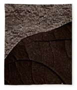 Plant And Mineral Fleece Blanket