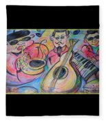 Play The Blues Fleece Blanket