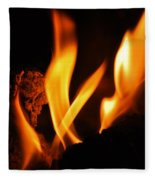Playing With Fire I Fleece Blanket