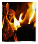 Playing With Fire II Fleece Blanket
