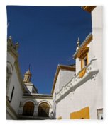 Plaza De Toros De La Real Maestranza - Seville Fleece Blanket