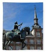 Plaza Mayor Fleece Blanket