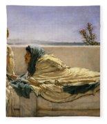 Pleading Fleece Blanket